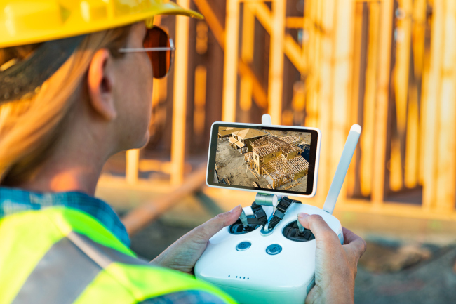 Guide to Drone Applications: Construction Progress Monitoring